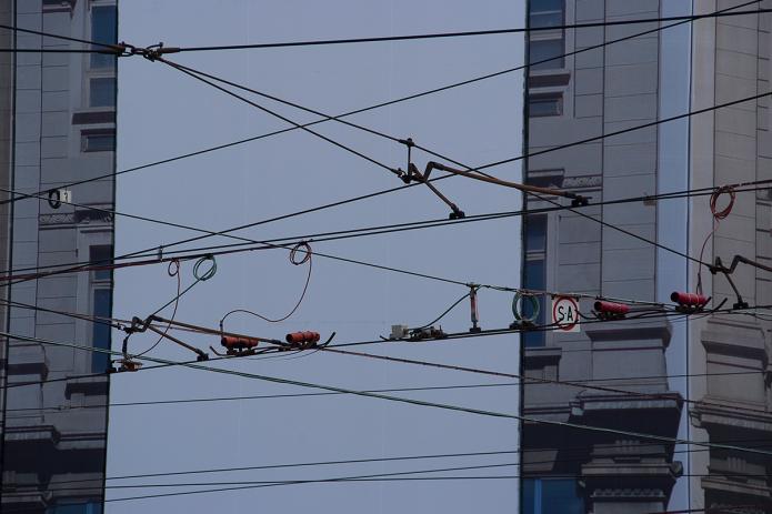 Fotografia, Milano cavi astratti